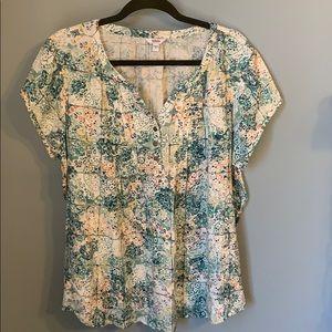 Sonoma xl light weight flowy blouse